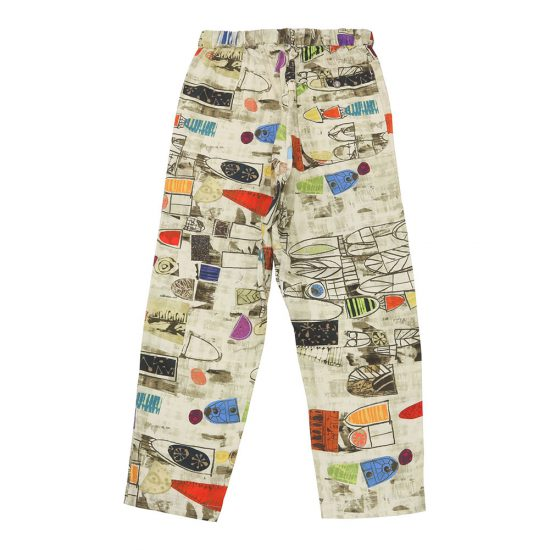 AiE[エーアイイー]EZ PANT Art abstract Print Canvas