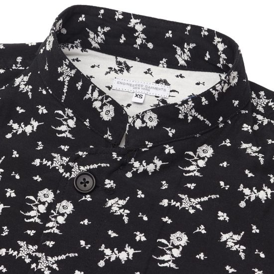 Engineered Garments[エンジニアド ガーメンツ]Day Ton Shirt Floral Jacquard