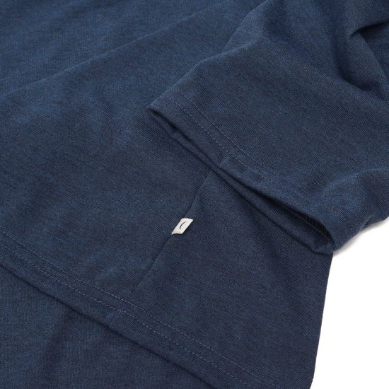 mellow people[メローピープル]Boatneck 3/4 Sleeve Pocket T-Shirts