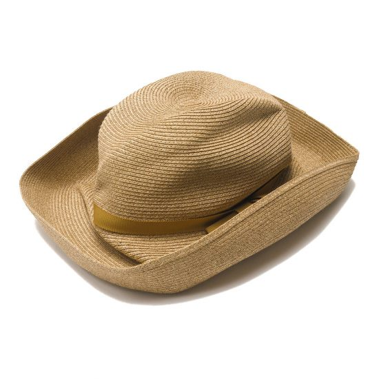 mature ha. [マチュアーハ] BOXED HAT 11cm brim grosgrain ribbon MBOX-101