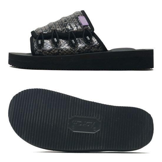SUICOKE[スイコック]Elastic Strap Sandal Purple Label