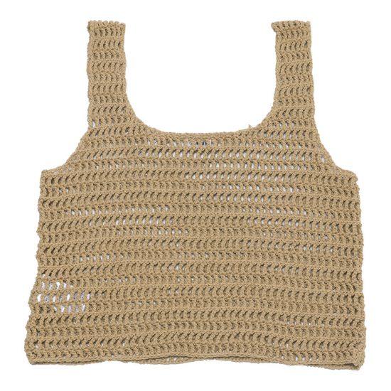 nowos[ノーウォス]Crochet tank top 500605449