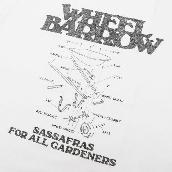 SASSAFRAS[ササフラス]Wheel Barrow T 1/2 SF-201647