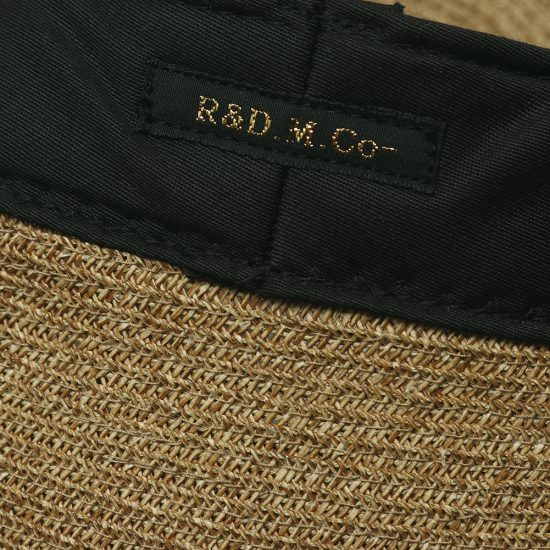 R&D.M.Co-[アール アンド ディー エム コー]BRAID BERET 3009