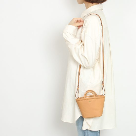 R&D.M.Co-[アール アンド ディー エム コー]CANVAS LINE N SHOULDER LEATHER MARCHE BAG 4150