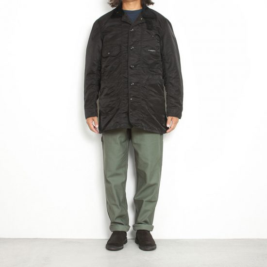 Engineered Garments[エンジニアド ガーメンツ]Long Logger Jacket Flight Satin
