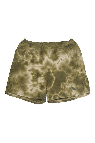 ranor[ラナー]TIE DYEING MIDDLE SHORTS 817-1-220