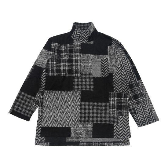 Engineered Garments[エンジニアド ガーメンツ]Mock Turtle Knit Patchwork HB