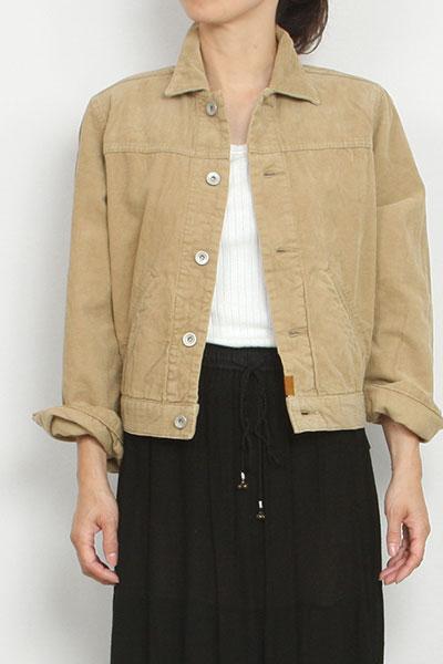 nowos[ノーウォス]corduroy jacket 5208005501