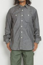 Engineered Garments[エンジニアド ガーメンツ]Work Shirt Cone Chambray