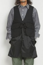 Engineered Garments[エンジニアド ガーメンツ]Long Fowl Vest Double Cloth
