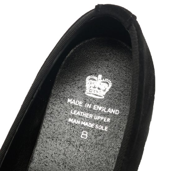 CROWN[クラウン]CREST SUEDE SLIPPER SUEDE BLACK