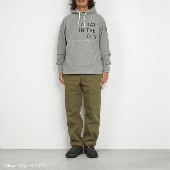 Engineered Garments[エンジニアド ガーメンツ]Raglan Hoody Fleece A DAY
