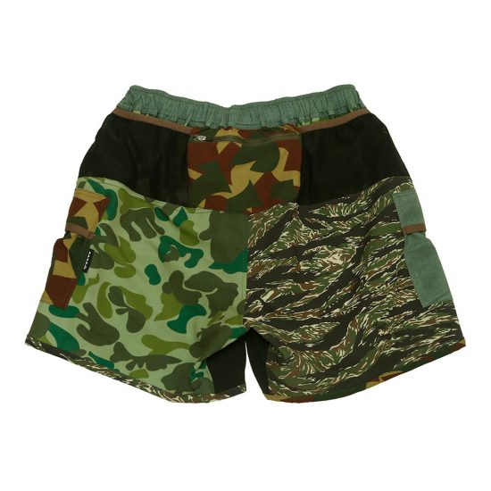 MOUNTAIN MARTIAL ARTS[マウンテンマーシャルアーツ]MMA 7pocket Run Pants Shorty Military Crazy MMA18-16
