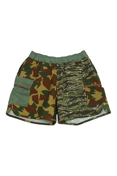 MOUNTAIN MARTIAL ARTS[マウンテンマーシャルアーツ]MMA 7pocket Run Pants Shorty Military Crazy MMA18-16