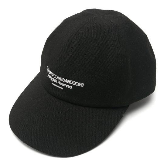 COMESANDGOES[カムズアンドゴーズ]COMES WOOL TWILL CAP 17649