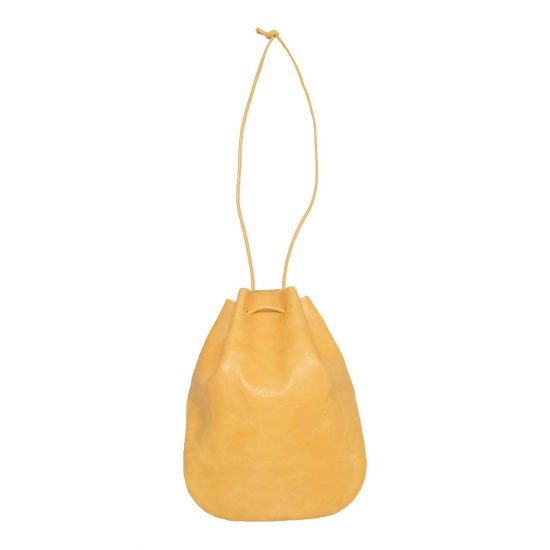 ARTS&CRAFTS[アーツアンドクラフツ]VEGETABLE HORSE LEATHER DROP SHAPE POUCH M