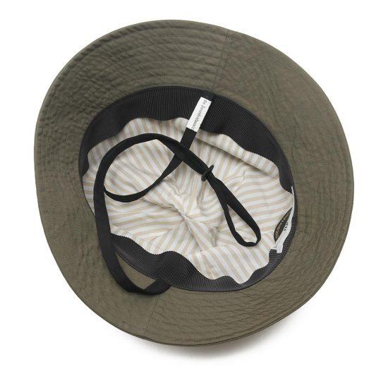 COMESANDGOES[カムズアンドゴーズ]TYPEWRITER BALOON HAT(あご紐付) 18681